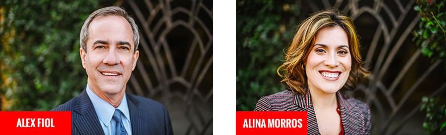 Attorney Alex Fiol & Alina Morros